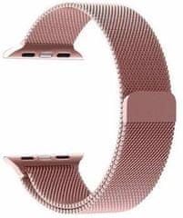 Tactical 349 Loop magnetický kovový řemínek pro iWatch 4 40 mm 2445278, růžový