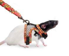 Karlie uprząż ze smyczą dla szczurów S
