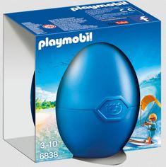 Playmobil vejce Kitesurfař