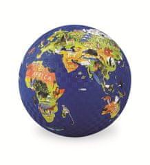 Crocodile Creek Play Ball 13 cm - Mapa světa / World