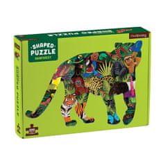 Mudpuppy Tvarované puzzle - Deštný prales / Shaped Puzzle - Rainforest (300 dílků)