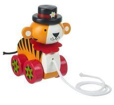 Orange Tree Toys Circus- Tahací tygr
