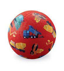 Crocodile Creek Play Ball 13 cm červený nákladní auta (red cars)