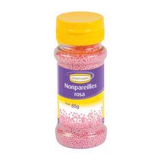 Cukrové miniperličky na zdobení 85g růžové