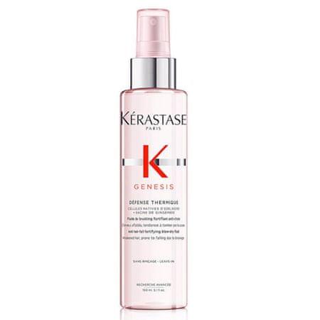 Kérastase Fluid za termo zaščito izpadajočih las Genesis Anti Hair-fall Fortifying Blow Dry Fluid (Obseg 150 ml)