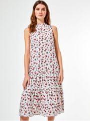 Billie & Blossom bílé květované šaty