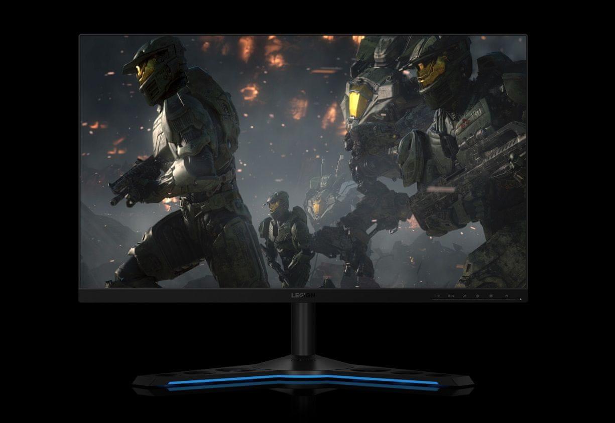 herní monitor Lenovo LEGION Y27GQ-25 (65F1GAC1EU) šetří oči technologie blue light reduction certifikace tuv eye comfort