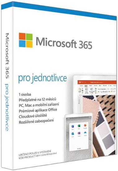 Microsoft 365 pro jednotlivce (QQ2-00012) - elektronická licence