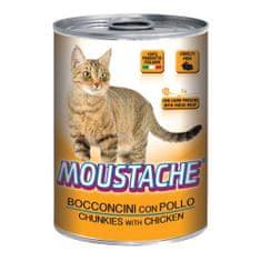 MOUSTACHE Cat Chunks kura 415g pre dospelé mačky