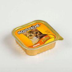 MOUSTACHE Cat Paté kuře 100g pro dospělé kočky