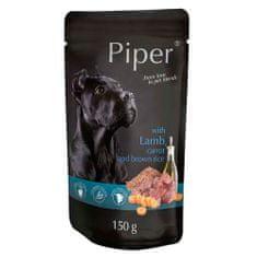 Piper ADULT 150g alutasak felnőtt kutyáknak bárányhússal, sárgarépával és barna rizzsel