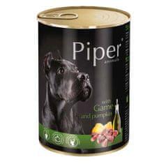 Piper ADULT 400g konzerv felnőtt kutyáknak vadhússal és tökkel