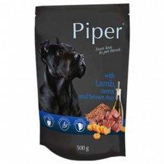 Piper ADULT 500g alutasak kutyáknak bárányhússal, sárgarépával és barna rizzsel