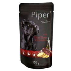 Piper ADULT 150g alutasak felnőtt kutyáknak marhamájjal és burgonyával