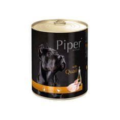 Piper ADULT 800g konzerv felnőtt kutyáknak fürjjel