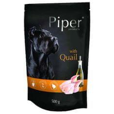 Piper ADULT 500g alutasak felnőtt kutyáknak fürjjel