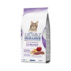 Monge LECHAT EXCELLENCE STERILIZED 1,5kg kačacie superprémiové krmivo pre mačky