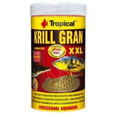 TROPICAL Krill Gran XXL 250ml/125g többösszetevős színfokozó haltáp merülő granulátum formájában
