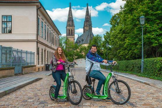 3h projížďka Prahou na elektrické koloběžce HUGO Bike s průvodcem