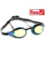 Mad Wave Plavecké brýle X-LOOK RAINBOW azurové