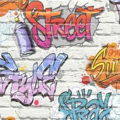 Vavex Papírová tapeta na zeď Cihly, grafity, L179AC05, L17905, Vavex 2019