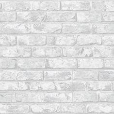 Vavex Tapeta na zeď vliesová IF3301, Šedá cihla, cihlová zeď, Vavex 2021