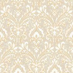 Design ID Vliesová tapeta damaškový vzor VD219171, Verde 2, Design ID, Afrodita, Vavex