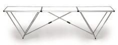 Schuller Stůl tapetovací 300x60x80 profi hliník/plast, 95920037