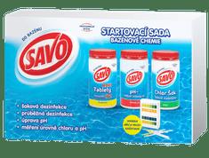 Savo Štartovacia sada bazénovej chémie