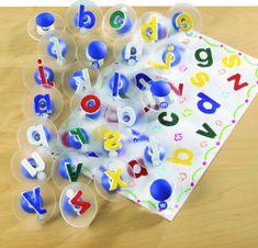 EDX Education Pečiatky s písmenami / Alphabet Stampers