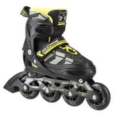 Nils Extreme kolieskové korčule NA11002 žlté vel. S