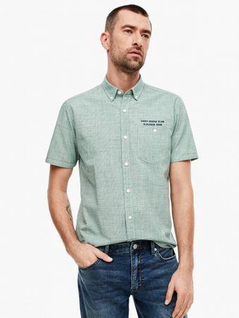 s.Oliver koszula męska S zielony