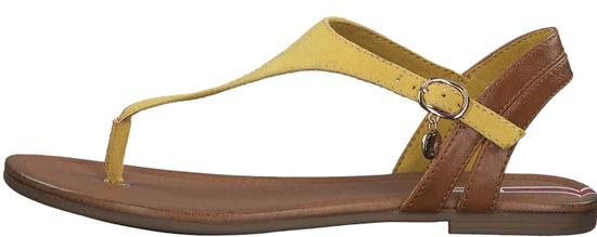 s.Oliver dámske sandále 28136_1, 41, žltá