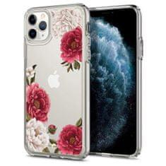 Spigen Ciel silikonski ovitek za iPhone 11 Pro Max, red floral