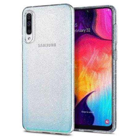 Spigen Liquid Crystal szilikon tok Samsung Galaxy A50, kristály