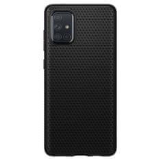 Spigen Liquid Air silikonski ovitek za Samsung Galaxy A71, črna
