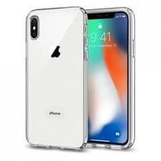 Spigen Liquid Crystal silikonski ovitek za iPhone X/XS, Prozoren