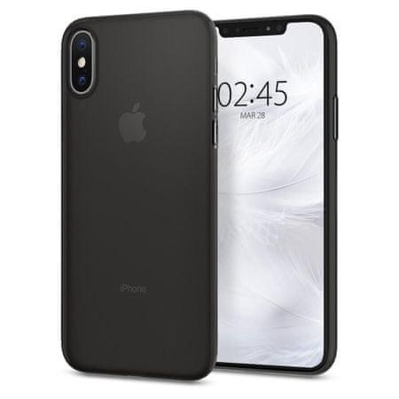 Spigen AirSkin plastika ovitek za iPhone X/XS črna