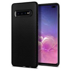 Spigen Liquid Air gumené púzdro pre Samsung Galaxy S10 Plus, matné čierne