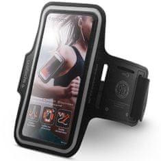 Spigen A700 Sport Armband univerzálne bežecké púzdro, čierne