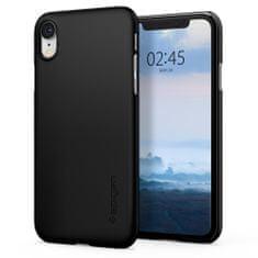 Spigen Thin Fit plastové pouzdro na iPhone XR, černé