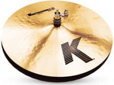 """Zildjian 14"""" K mastersound hi hat Činely hi-hat"""