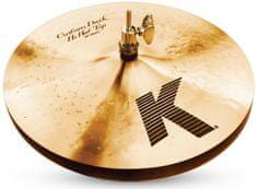 """Zildjian 13"""" K Custom dark hi hat Činely hi-hat"""