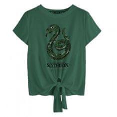 Dámské tričko Harry Potter - Zmijozel, měnící flitry