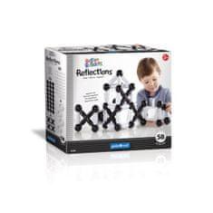 GuideCraft Magnetická stavebnica malý staviteľ - odrazy / Better Builders Reflections set 58 ks