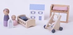 Little Dutch Drevený hrací set bábätko 11ks