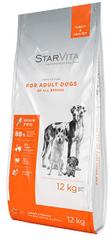 Starvita Szárazeledel felnőtt kutyáknak pulykahússal 12 kg