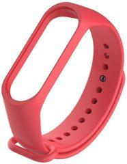Tactical 518 silikonový řemínek pro Xiaomi Mi Band 3 / 4 2447629, červená