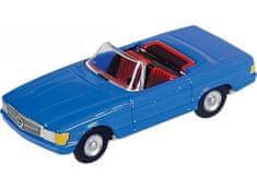 KOVAP Mercedes cabrio, modrý/ strieb.