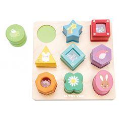Le Toy Van Senzorické tvary na vkladanie